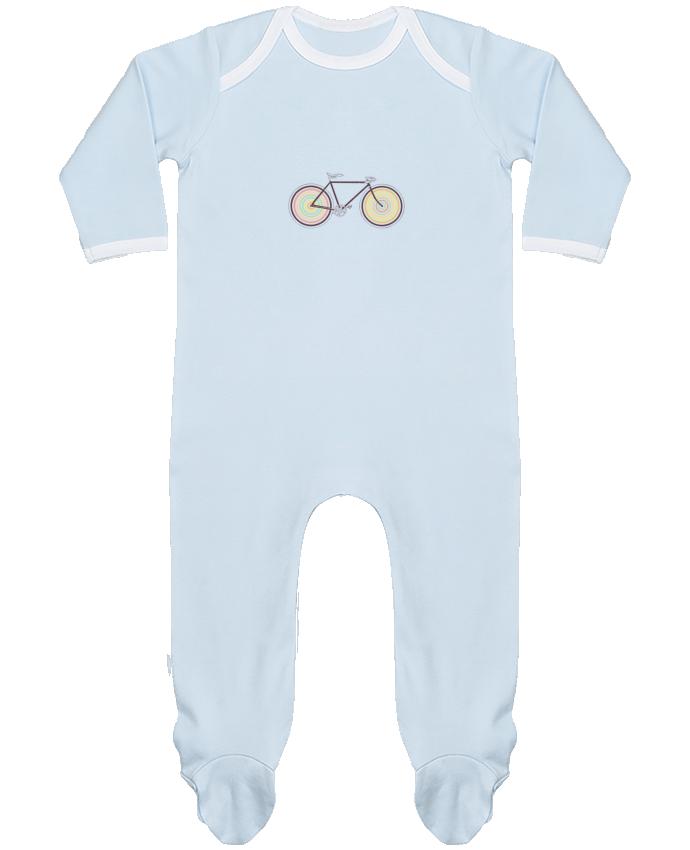 Pyjama Bébé Manches Longues Contrasté Velocolor par Florent Bodart
