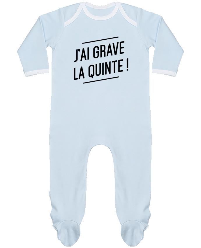 Pyjama Bébé Manches Longues Contrasté La quinte ! par tunetoo