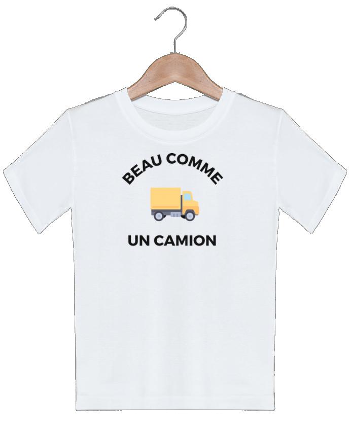 T-shirt garçon motif Beau comme un camion Ruuud