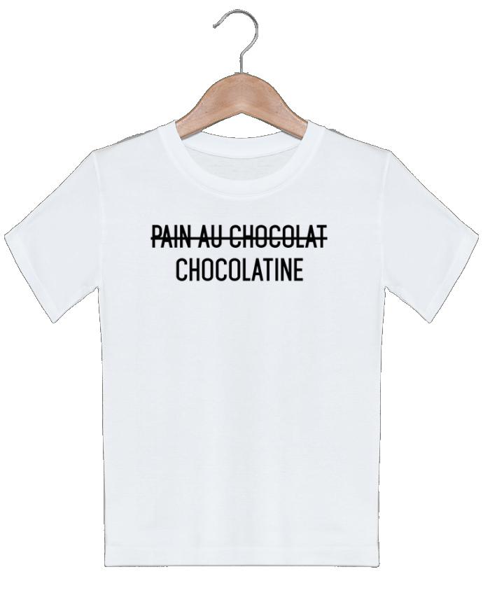 T-shirt garçon motif Chocolatine tunetoo