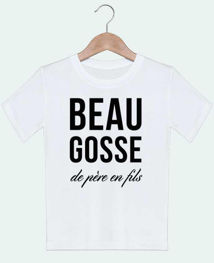 T-shirt garçon motif Beau gosse de père en fils tunetoo