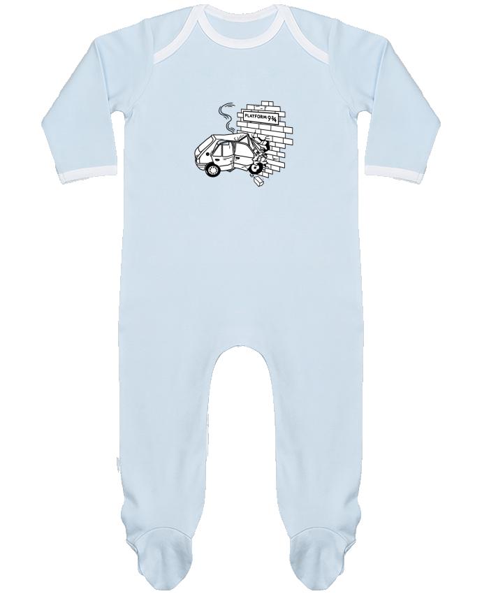 Pyjama Bébé Manches Longues Contrasté 205 par tattooanshort