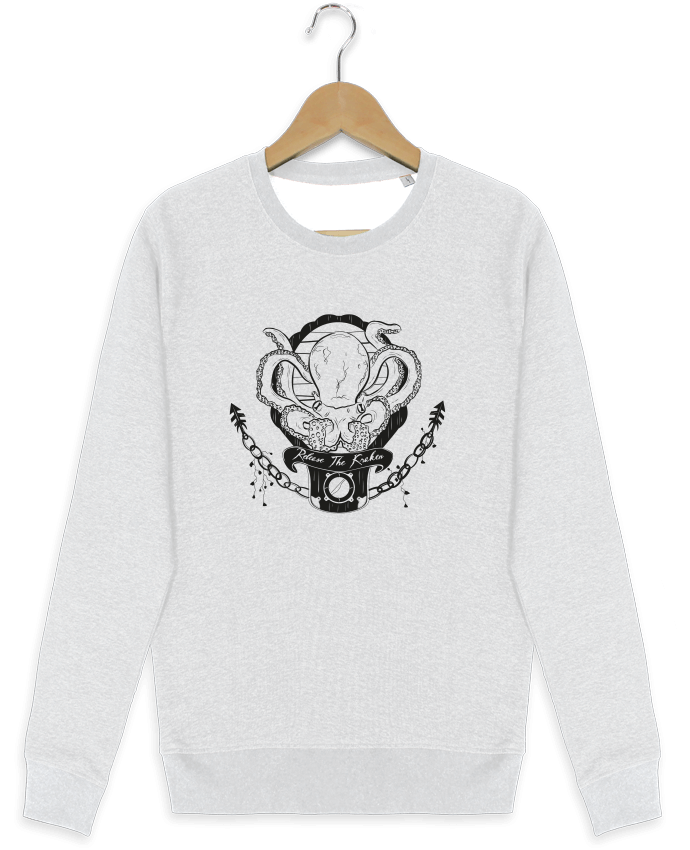 Sweat-shirt Stanley stella modèle seeks Release The Kraken par Tchernobayle