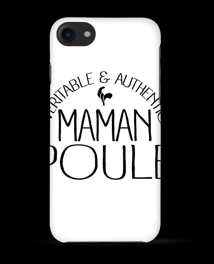 Coque 3D Iphone 7 Maman Poule de Freeyourshirt.com