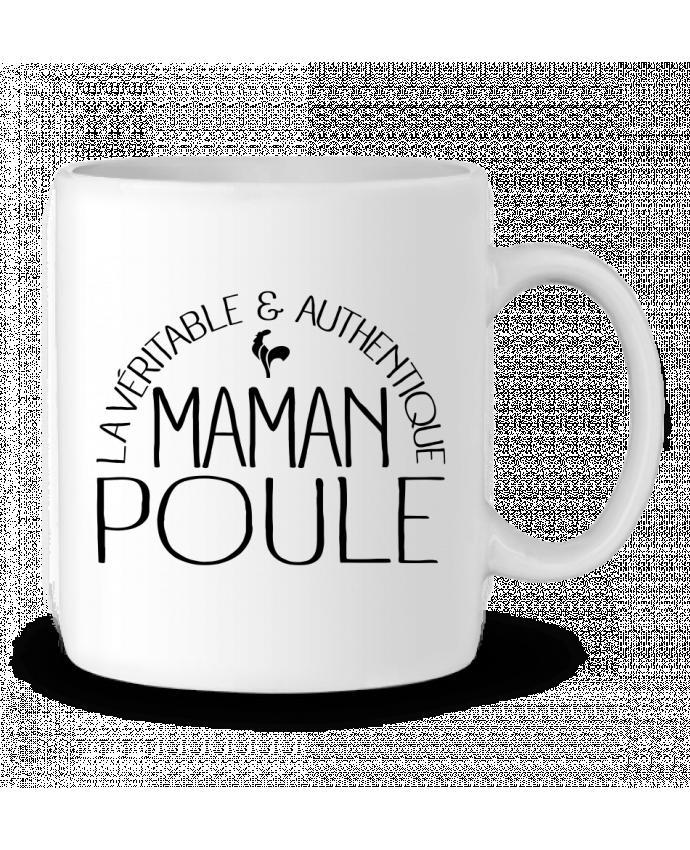 Mug en Céramique Maman Poule par Freeyourshirt.com