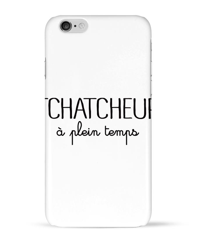 Coque 3D Iphone 6 Thatcheur à plein temps par Freeyourshirt.com