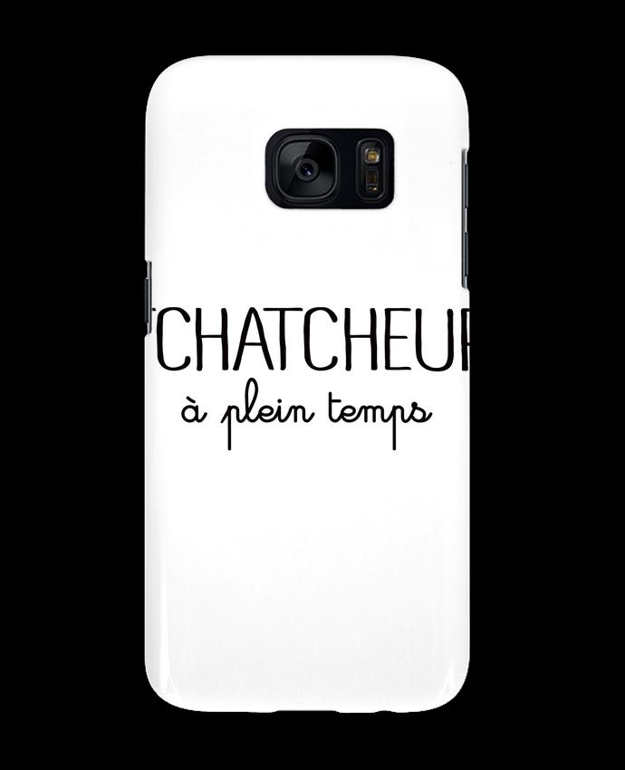 Coque 3D Samsung Galaxy S7 Thatcheur à plein temps par Freeyourshirt.com