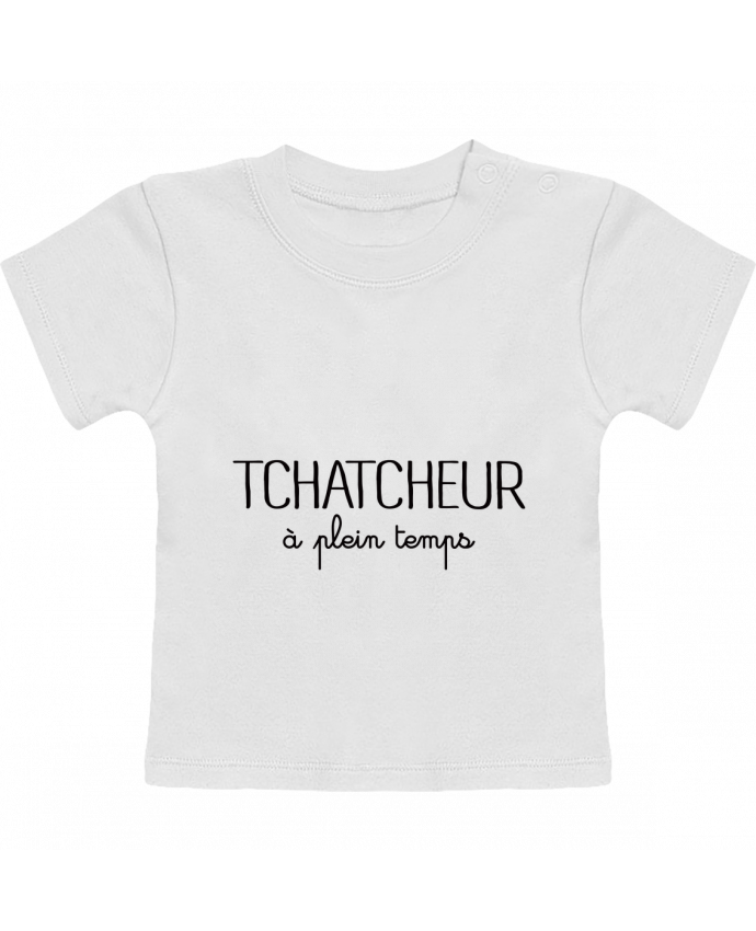 T-Shirt Bébé Manches Courtes Thatcheur à plein temps manches courtes du designer Freeyourshirt.com