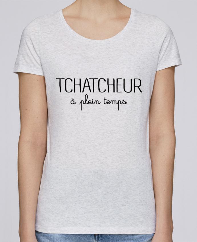 T-shirt Femme Stella Loves Thatcheur à plein temps par Freeyourshirt.com