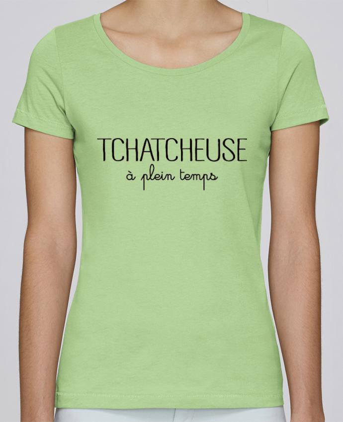 T-shirt Femme Stella Loves Tchatcheuse à plein temps par Freeyourshirt.com