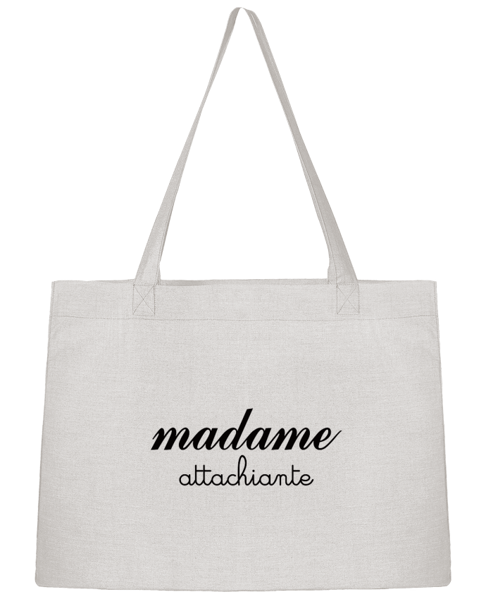 Sac Cabas Shopping Stanley Stella Madame Attachiante par Freeyourshirt.com