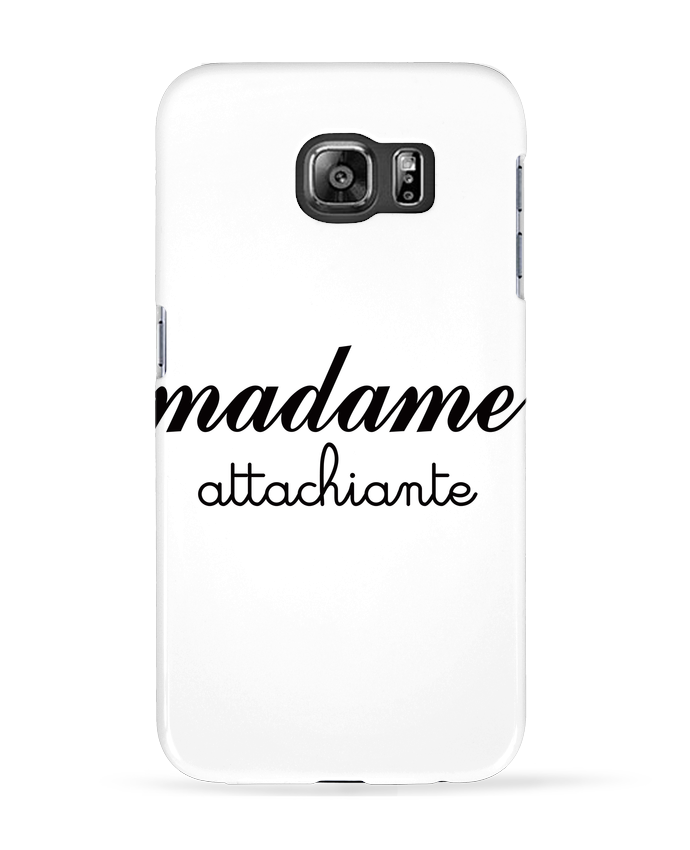 Coque 3D Samsung Galaxy S6 Madame Attachiante - Freeyourshirt.com
