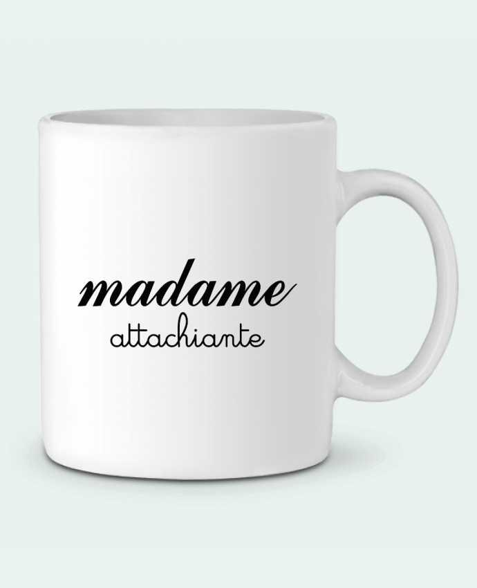 Mug en Céramique Madame Attachiante par Freeyourshirt.com