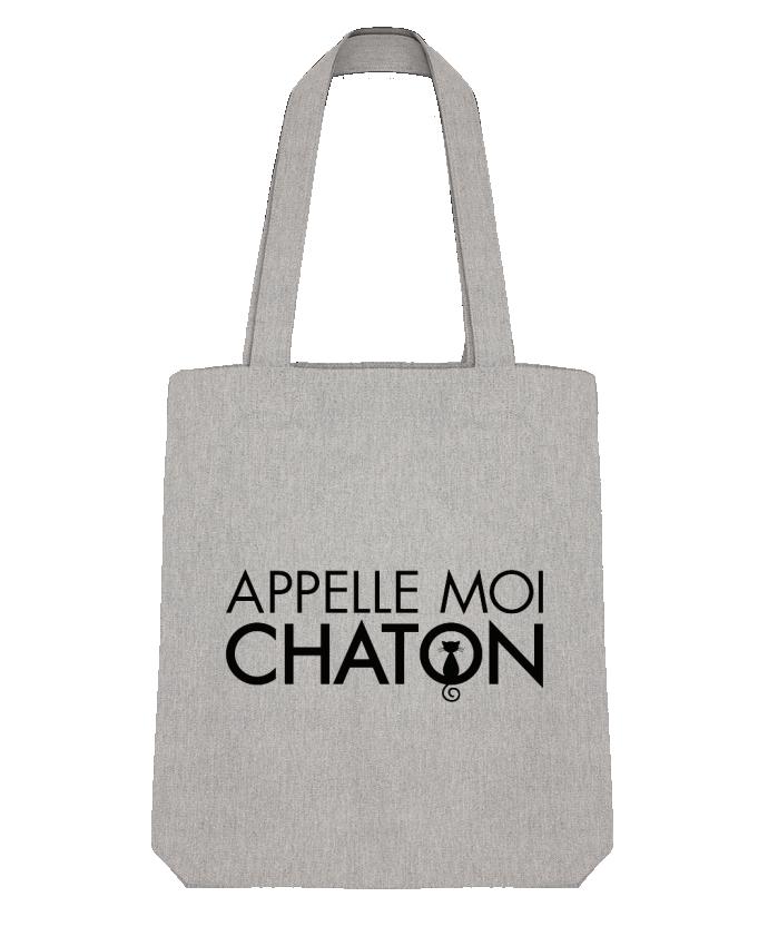 Tote Bag Stanley Stella Appelle moi Chaton par Freeyourshirt.com