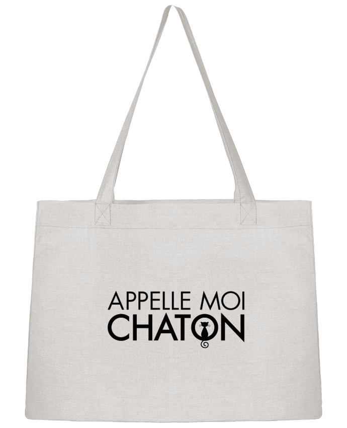 Sac Cabas Shopping Stanley Stella Appelle moi Chaton par Freeyourshirt.com