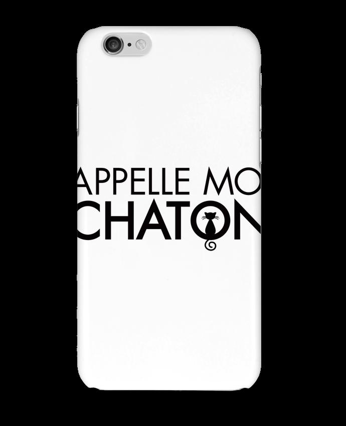 Coque 3D Iphone 6 Appelle moi Chaton par Freeyourshirt.com