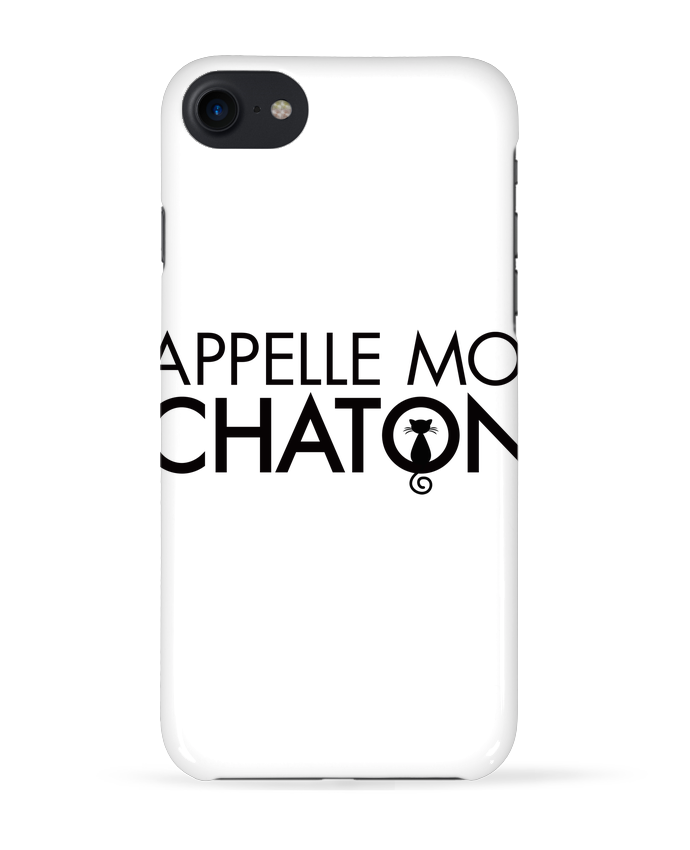 Coque 3D Iphone 7 Appelle moi Chaton de Freeyourshirt.com
