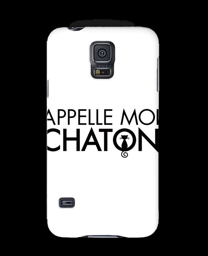 Coque 3D Samsung Galaxy S5 Appelle moi Chaton par Freeyourshirt.com