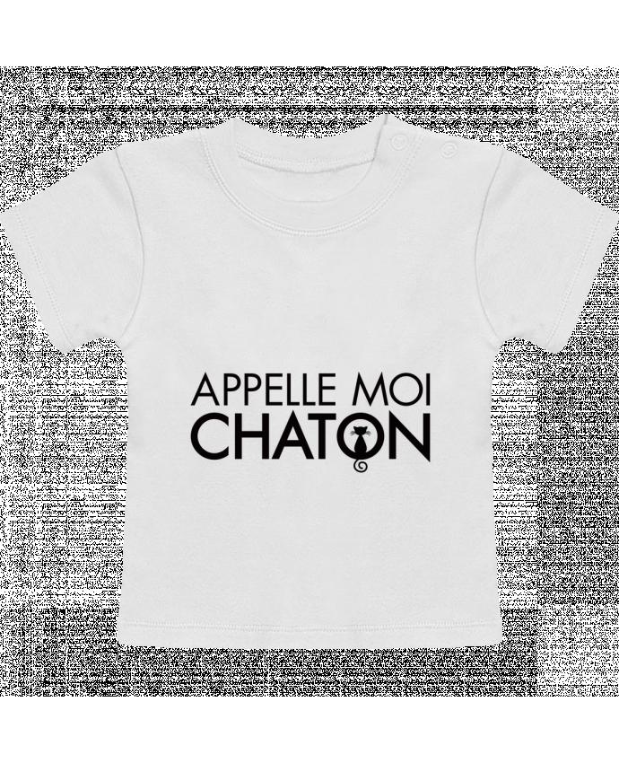 T-Shirt Bébé Manches Courtes Appelle moi Chaton manches courtes du designer Freeyourshirt.com