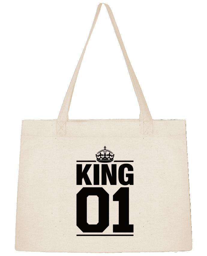 Sac Shopping King 01 par Freeyourshirt.com