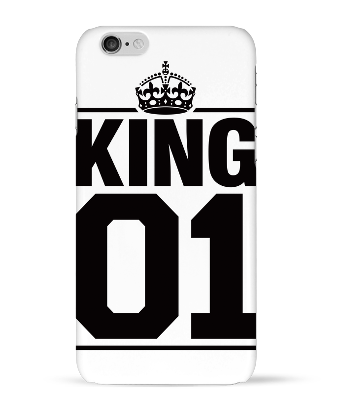 Coque 3D Iphone 6 King 01 par Freeyourshirt.com