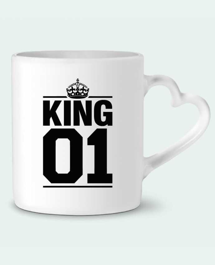 Mug Coeur King 01 par Freeyourshirt.com