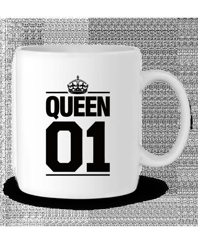 Mug en Céramique Queen 01 par Freeyourshirt.com