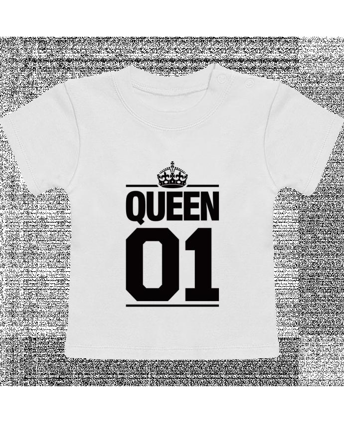 T-Shirt Bébé Manches Courtes Queen 01 manches courtes du designer Freeyourshirt.com