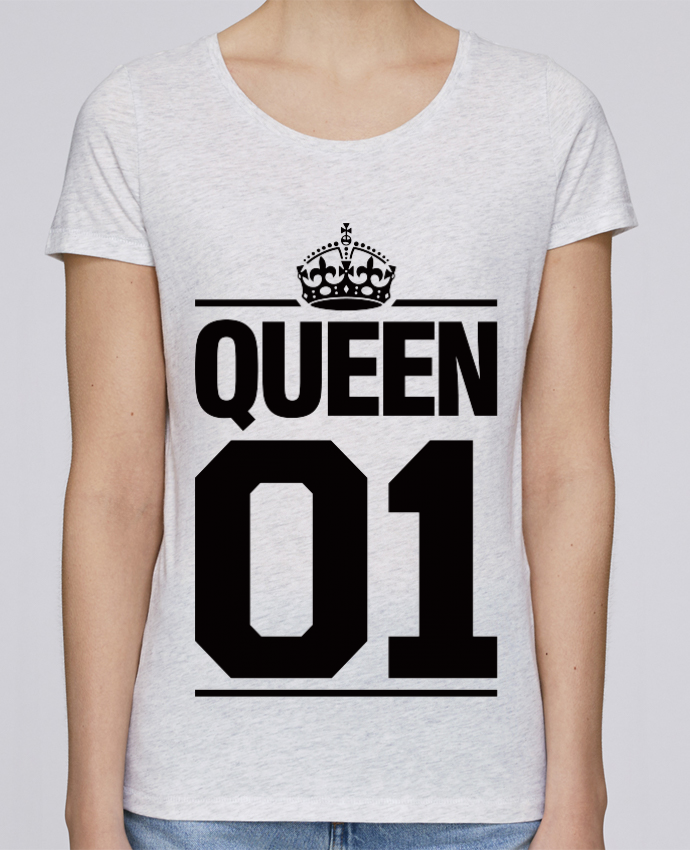 T-shirt Femme Stella Loves Queen 01 par Freeyourshirt.com