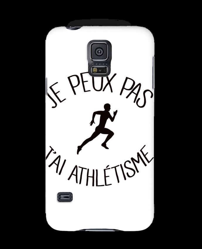 Coque Samsung Galaxy S5 Je peux pas j'ai Athlétisme par Freeyourshirt.com