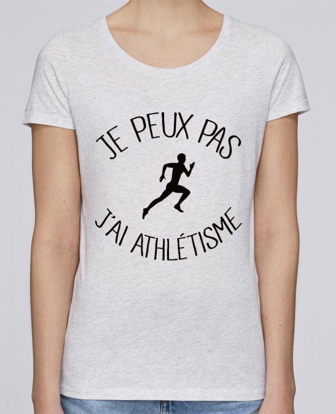 T-shirt Femme Stella Loves Je peux pas j'ai Athlétisme par Freeyourshirt.com
