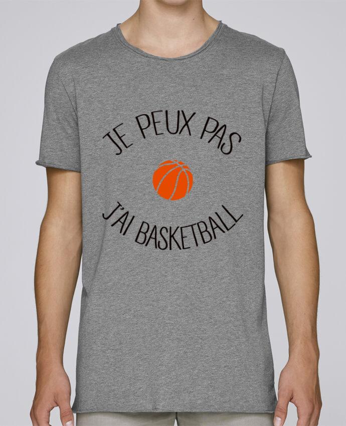 T-shirt Homme Oversized Stanley Skates je peux pas j'ai Basketball par Freeyourshirt.com