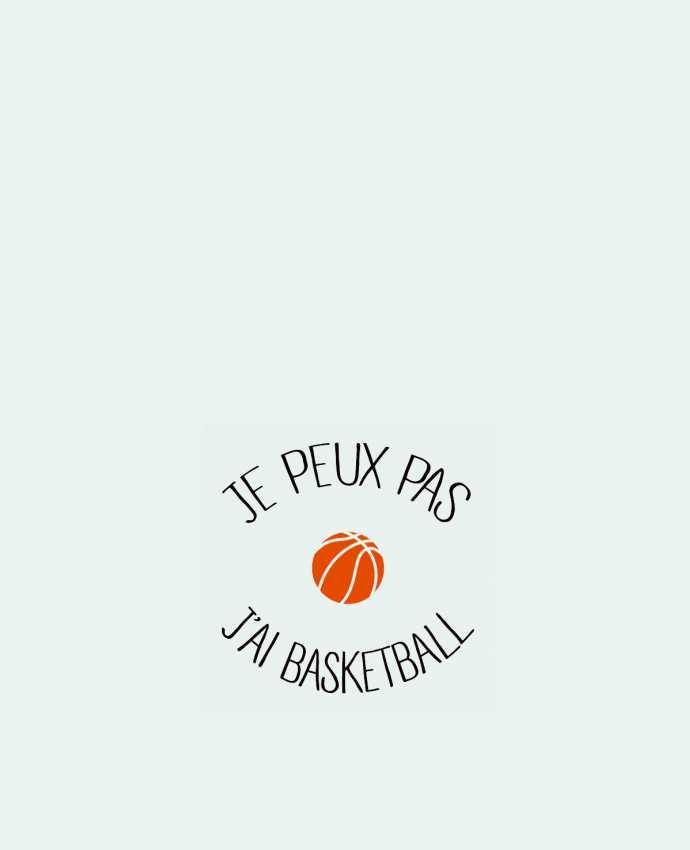 Sac en Toile Coton je peux pas j'ai Basketball par Freeyourshirt.com