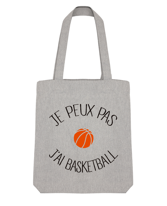 Tote Bag Stanley Stella je peux pas j'ai Basketball par Freeyourshirt.com