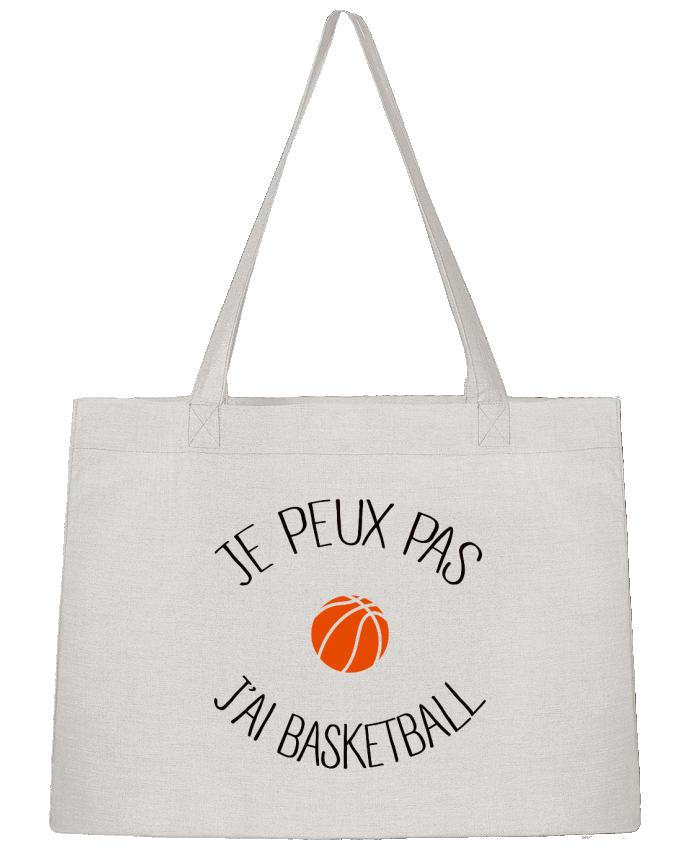 Sac Cabas Shopping Stanley Stella je peux pas j'ai Basketball par Freeyourshirt.com