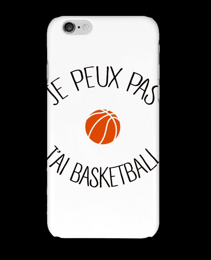 Coque 3D Iphone 6 je peux pas j'ai Basketball par Freeyourshirt.com