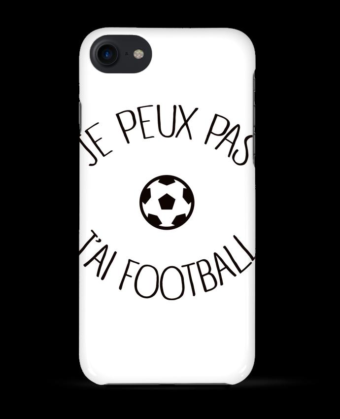 Coque 3D Iphone 7 Je peux pas j'ai Football de Freeyourshirt.com