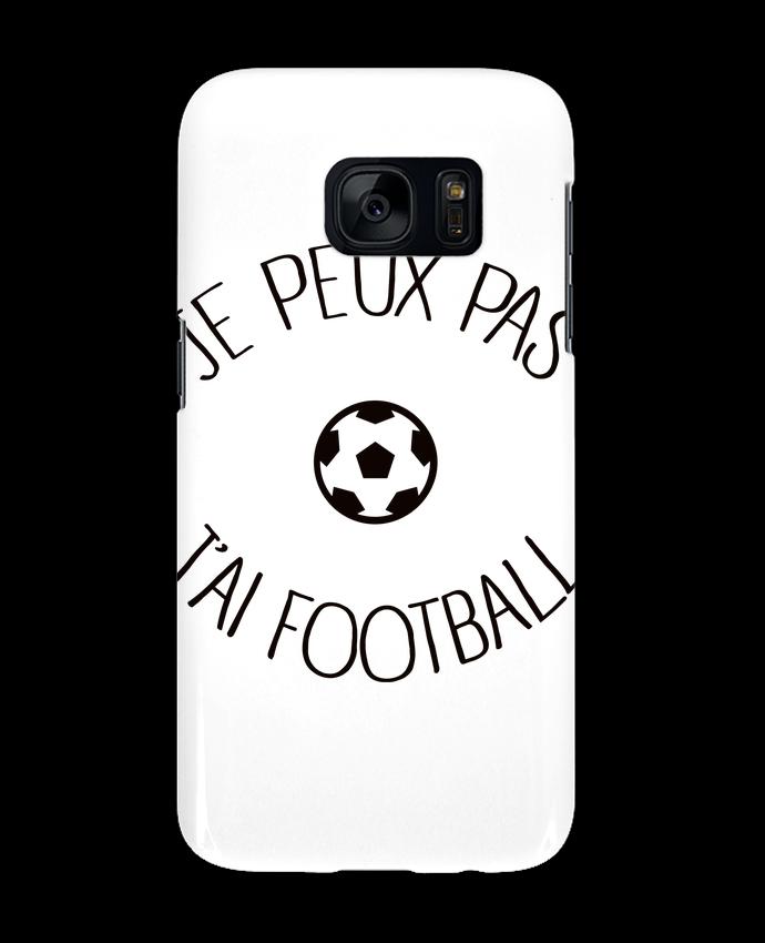 Coque 3D Samsung Galaxy S7 Je peux pas j'ai Football par Freeyourshirt.com