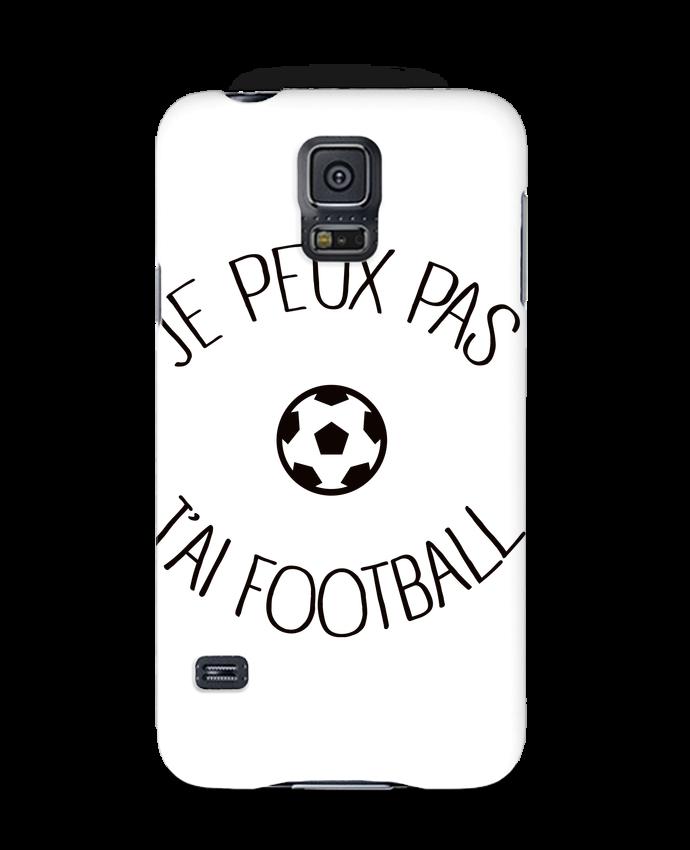 Coque 3D Samsung Galaxy S5 Je peux pas j'ai Football par Freeyourshirt.com
