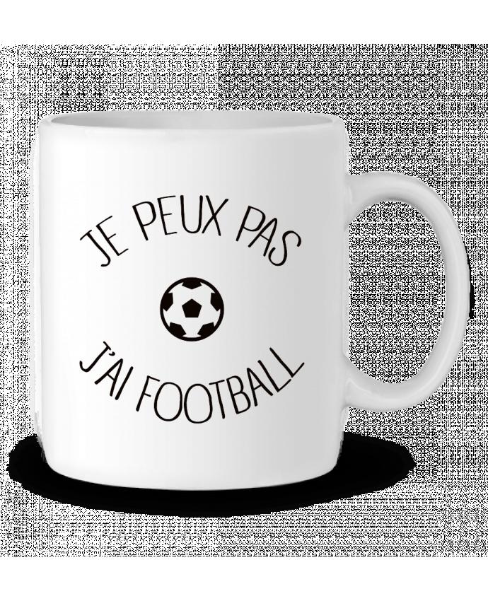 Mug en Céramique Je peux pas j'ai Football par Freeyourshirt.com