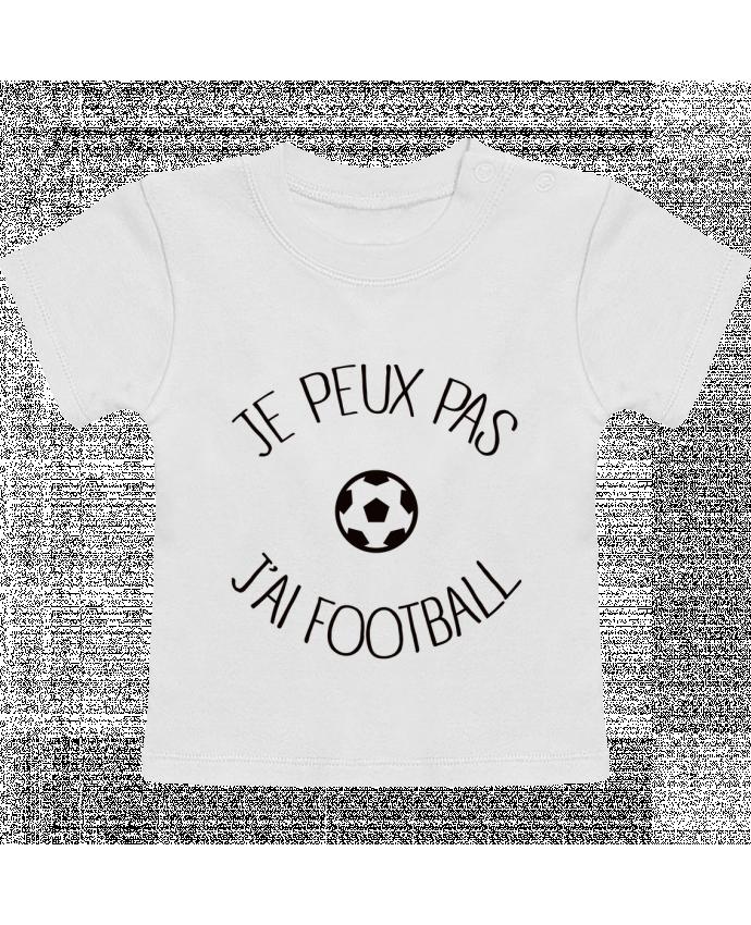 T-Shirt Bébé Manches Courtes Je peux pas j'ai Football manches courtes du designer Freeyourshirt.com