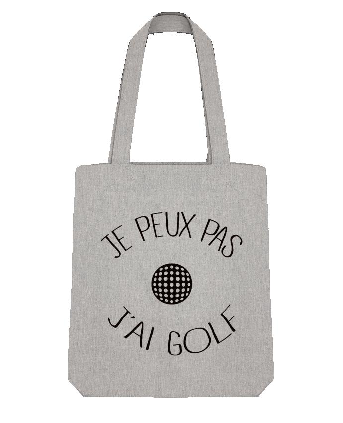 Tote Bag Stanley Stella Je peux pas j'ai golf par Freeyourshirt.com