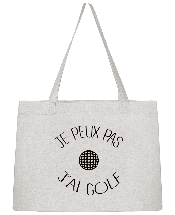 Sac Cabas Shopping Stanley Stella Je peux pas j'ai golf par Freeyourshirt.com