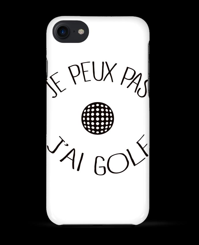 Coque 3D Iphone 7 Je peux pas j'ai golf de Freeyourshirt.com
