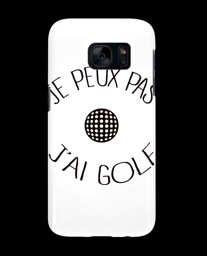 Coque 3D Samsung Galaxy S7 Je peux pas j'ai golf par Freeyourshirt.com
