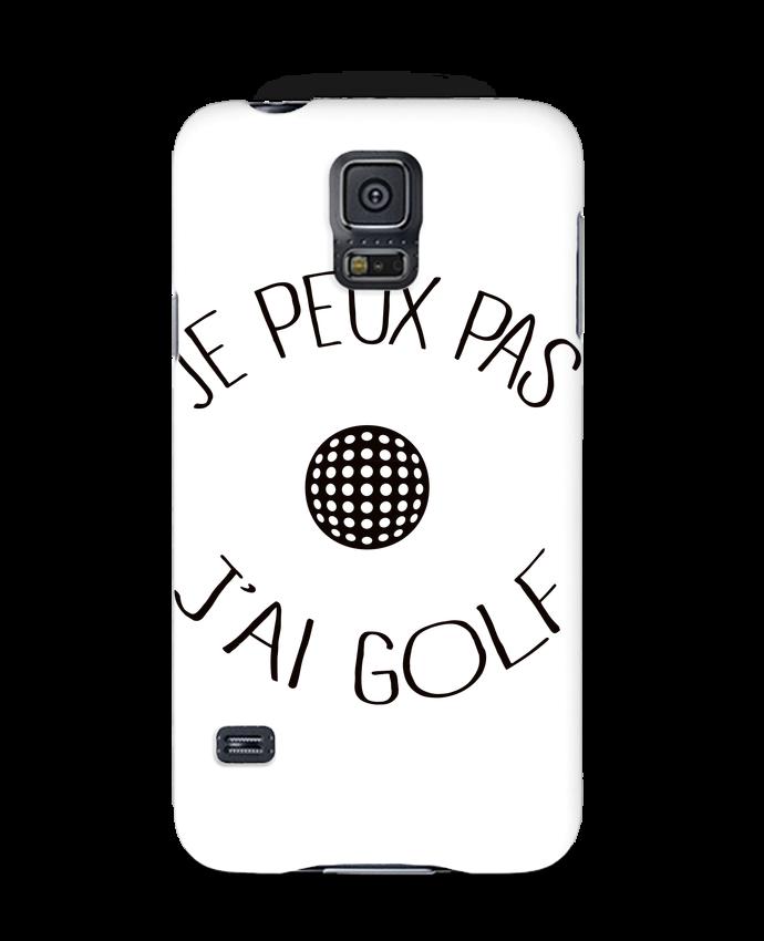 Coque 3D Samsung Galaxy S5 Je peux pas j'ai golf par Freeyourshirt.com