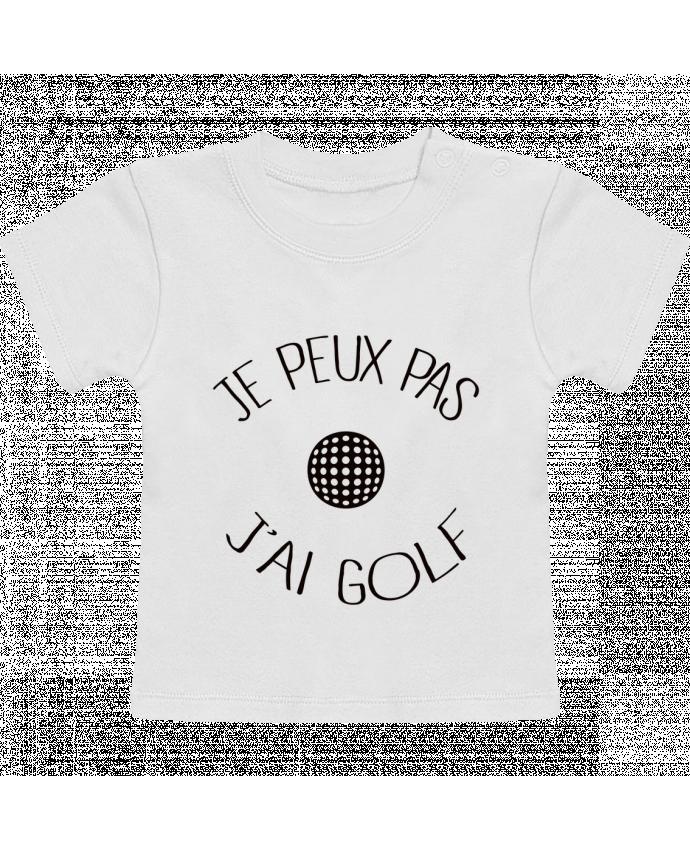 T-Shirt Bébé Manches Courtes Je peux pas j'ai golf manches courtes du designer Freeyourshirt.com