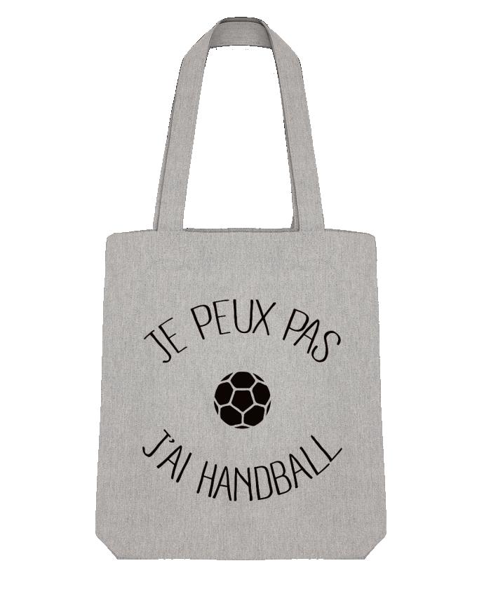 Tote Bag Stanley Stella Je peux pas j'ai Handball par Freeyourshirt.com