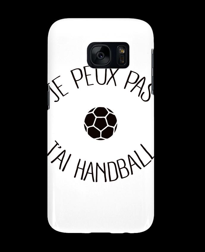 Coque 3D Samsung Galaxy S7  Je peux pas j'ai Handball par Freeyourshirt.com