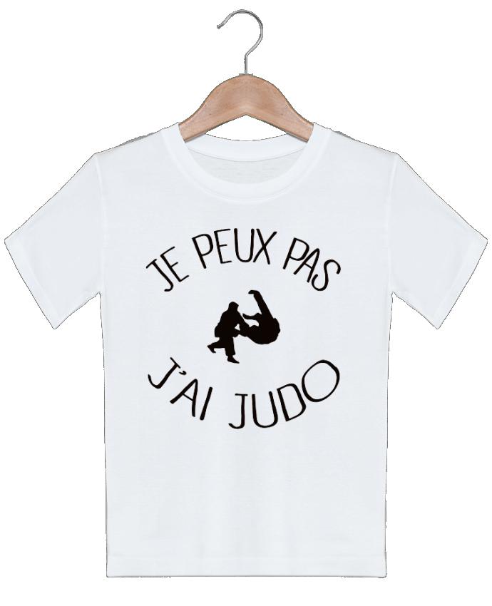 T-shirt garçon motif Je peux pas j'ai Judo Freeyourshirt.com